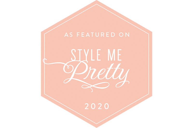 style me pretty feature badge
