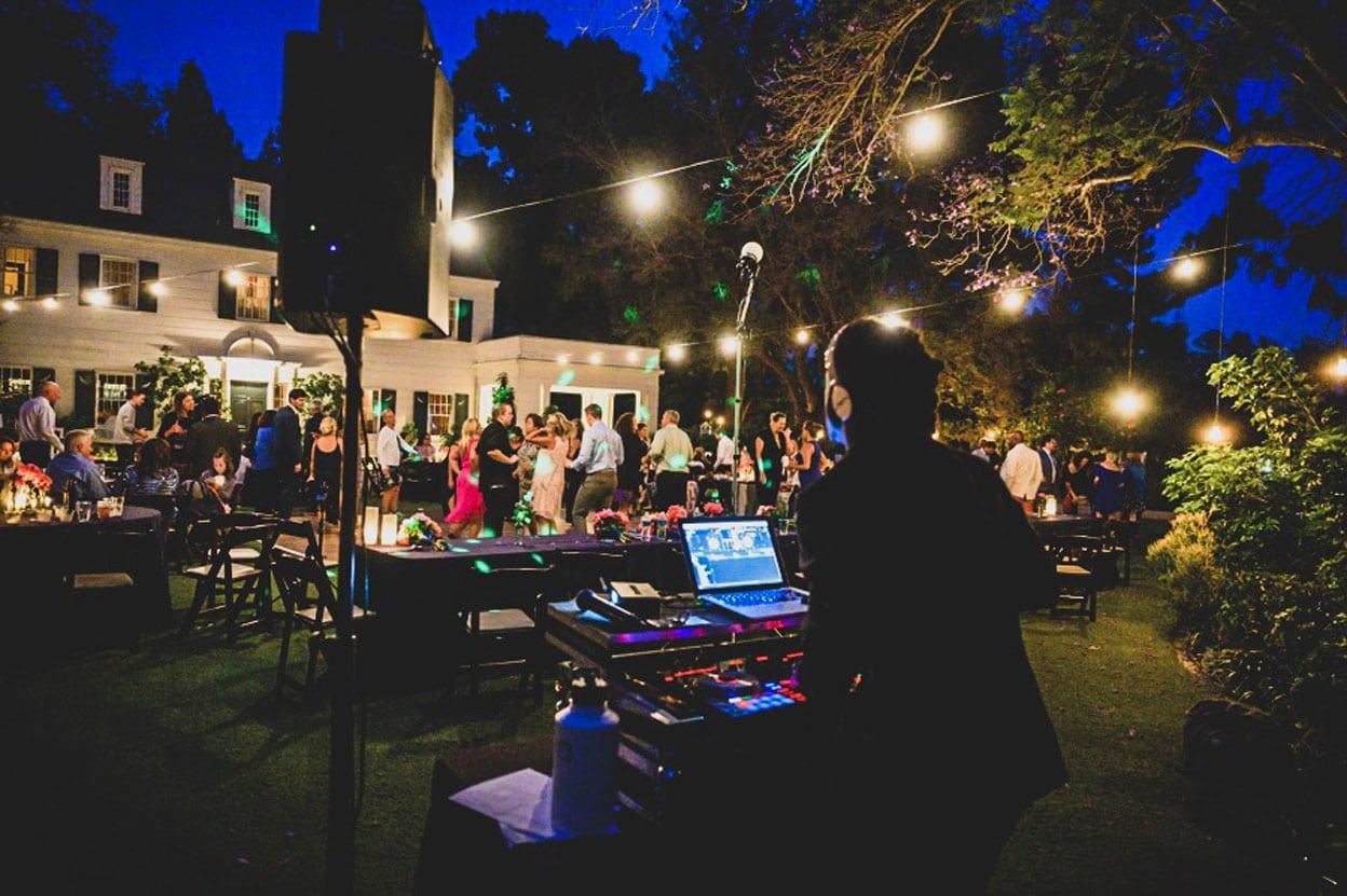 wedding DJ will gill full dance floor