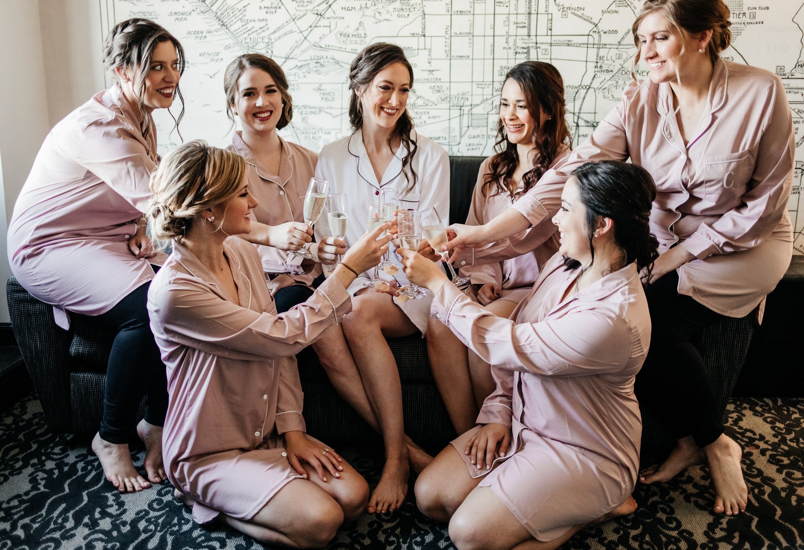 wedding photographer erin marton bridesmaids pic