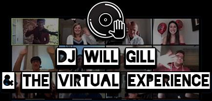 Zoom DJs virtual party title