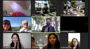 Los Angeles Wedding DJ Virtual Wedding on Zoom